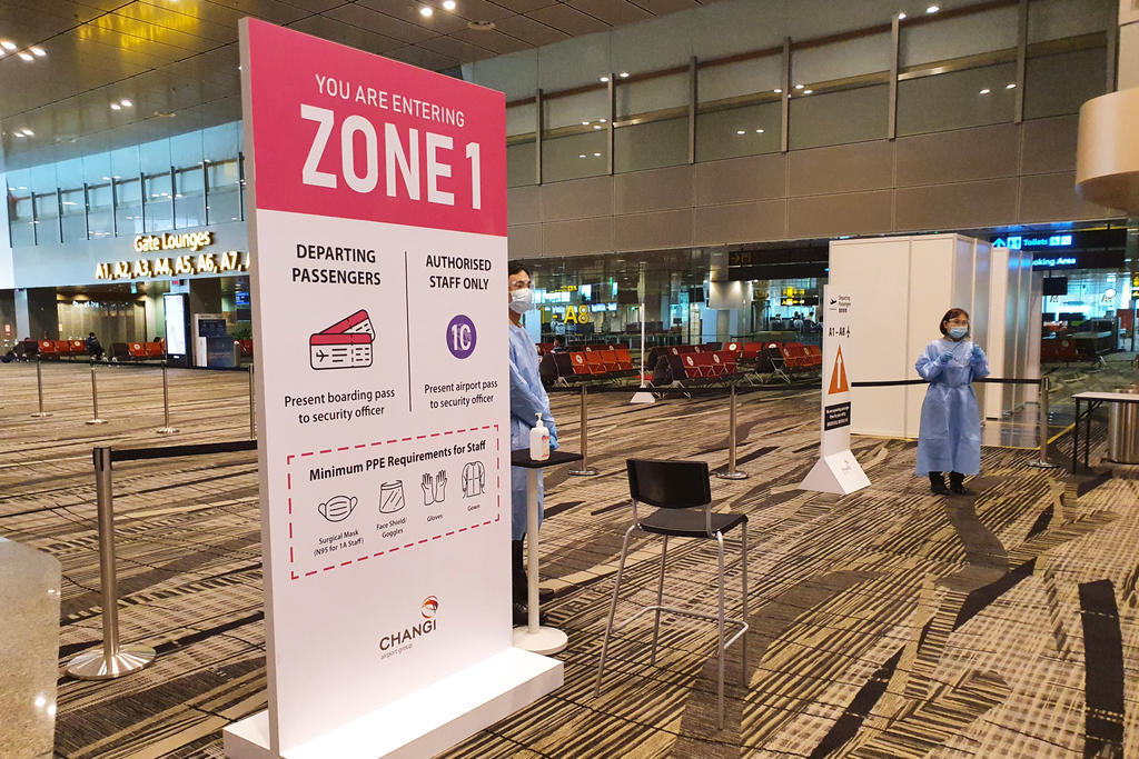 CAG's investigations found that 23 of Covid-19-positive airport workers had worked in higher-risk areas that required direct contact with arrival and transfer passengers. These areas are now demarcated as Zone 1. — TODAY pic