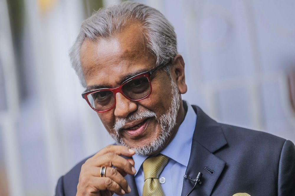 Today is the fourth day of Tan Sri Muhammad Shafee Abdullah's trial, in which the senior lawyer is facing money laundering charges involving RM9.5 million allegedly received from Datuk Seri Najib Razak and two charges of making false statements to the Inland Revenue Board (IRB). ― Picture by Hari Anggara