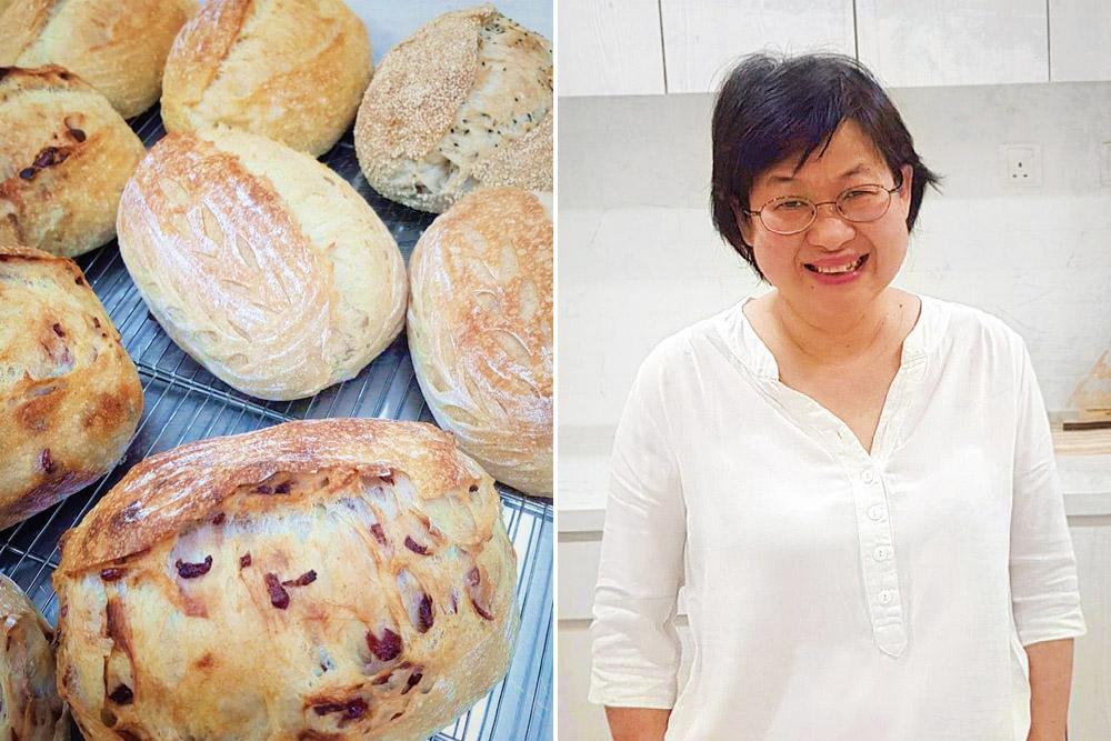 Helen Wong started Helenshomebake as her family loves eating sourdough bread.