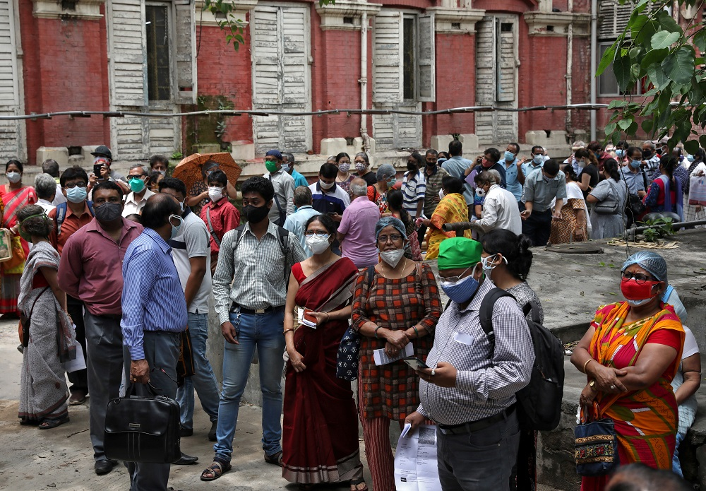 India logs 62K new Covid cases, 2,542 deaths