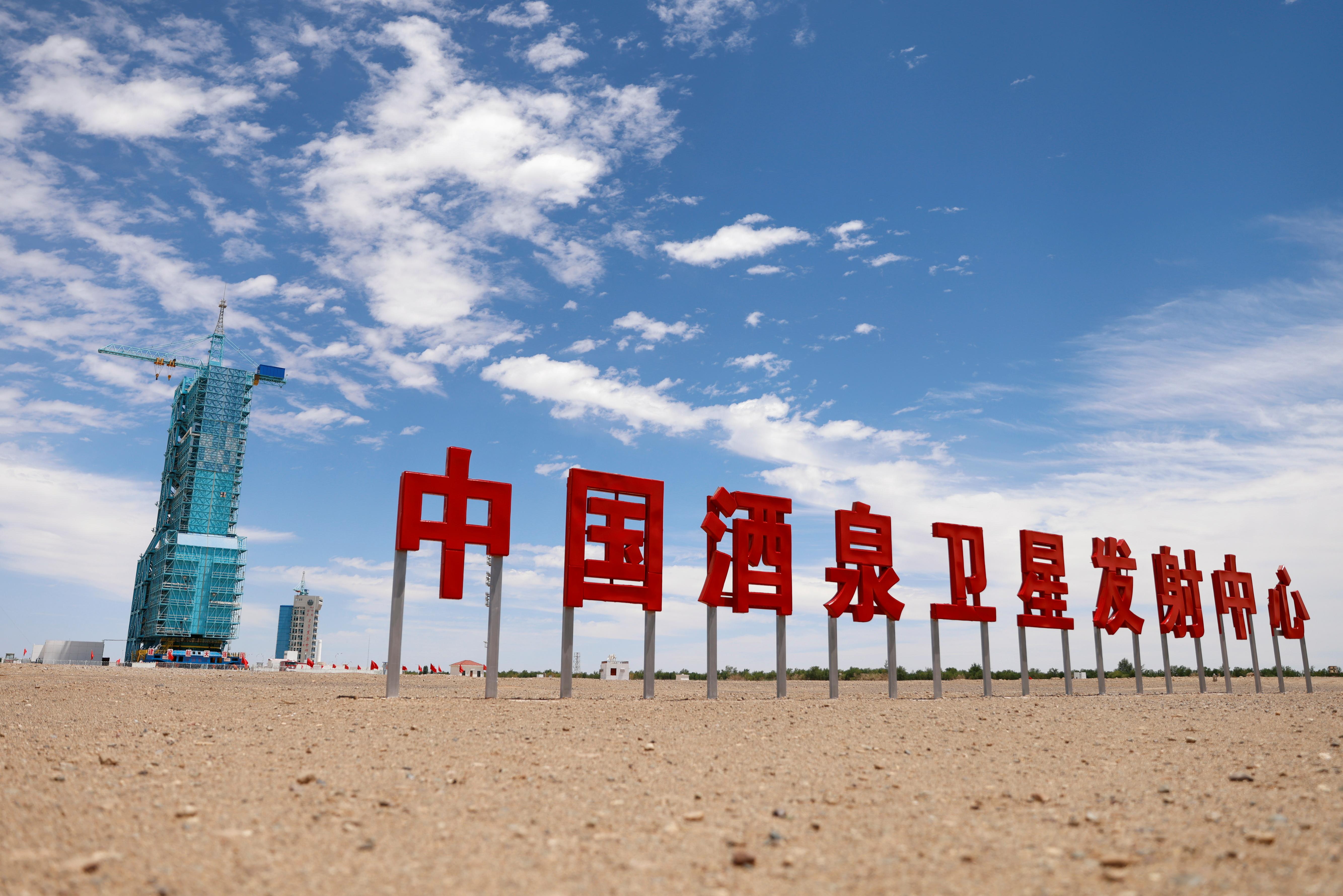 神舟十二号飞船将在周四上午由长征二号F遥十二运载火箭发射升空。发射地点位于中国西北部的酒泉卫星发射中心。-路透社-