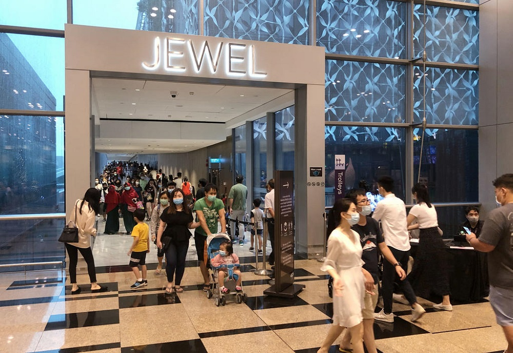 Jewel has been shut since May 13 to deal with a Covid-19 cluster among airport workers. — TODAY pic