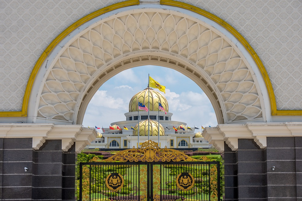 Istana Negara re-posted a poster of this on its official Facebook and Instagram pages without additional comment, after previously deleting a similar post which had emphasised the phrase 'Parliament must happen as soon as possible' in Malay. — Picture by Shafwan Zaidon
