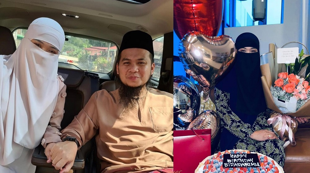 Ebit Lew arranged for gifts to be delivered to his wife for her birthday while he's away in Gaza. — Pictures via Facebook/ebitlewofficialpage