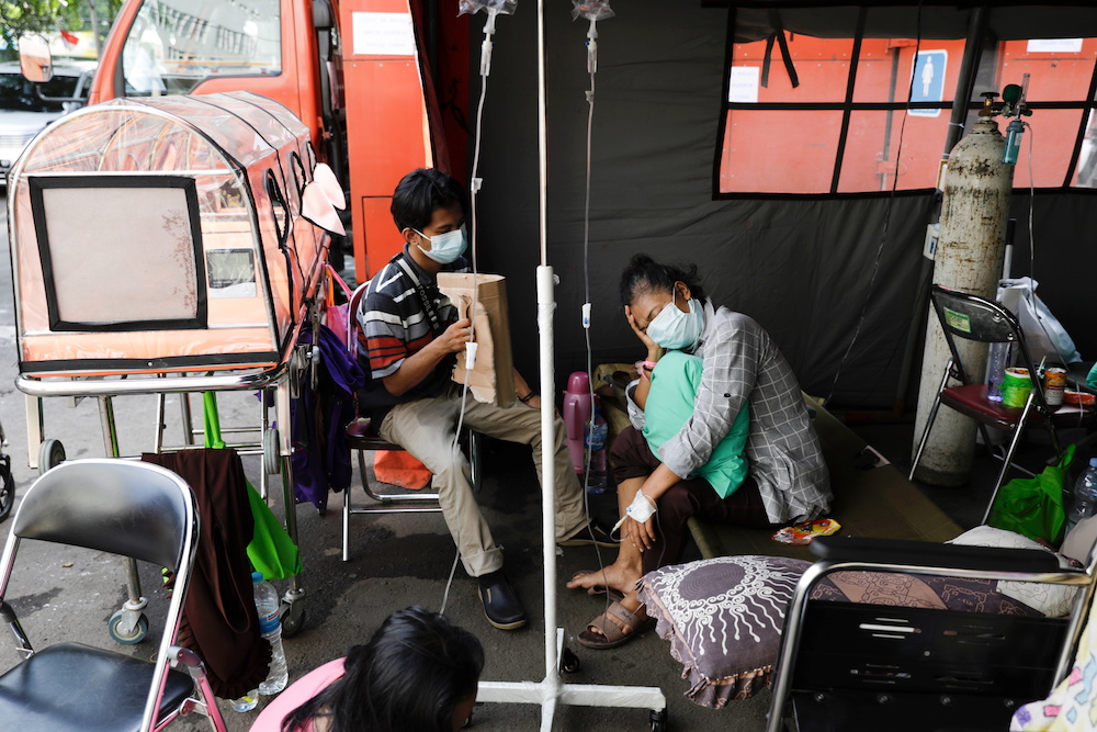 Indonesia is Asia's Covid-19 epicentre and has over the last week reported over 1,500 deaths a day— Reuters pic
