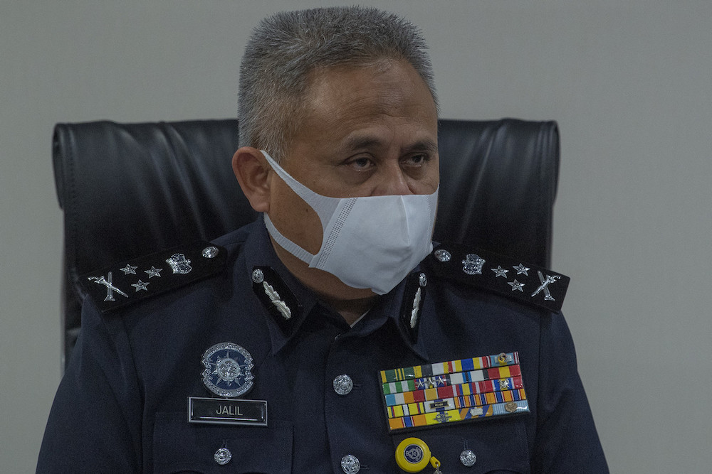 Bukit Aman Criminal Investigation Department director Datuk Seri Abd Jalil Hassan said of the total, 74 individuals were given the Protection Order (PO) last year, while 65 people others obtained it in the first five months of this year. — Bernama pic