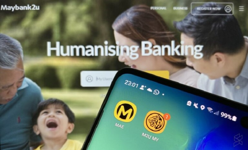 both Maybank2u and Mobile Banking services will not be available between 03.30am to 10.00am. — SoyaCincau pic