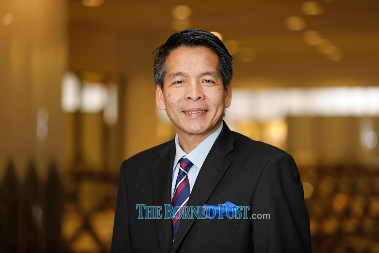 Dennis Ngau urged the Penans who previously refused to register for Covid-19 vaccination to do so as it could minimise their risks of getting infected by the virus. — Borneo Post Online pic