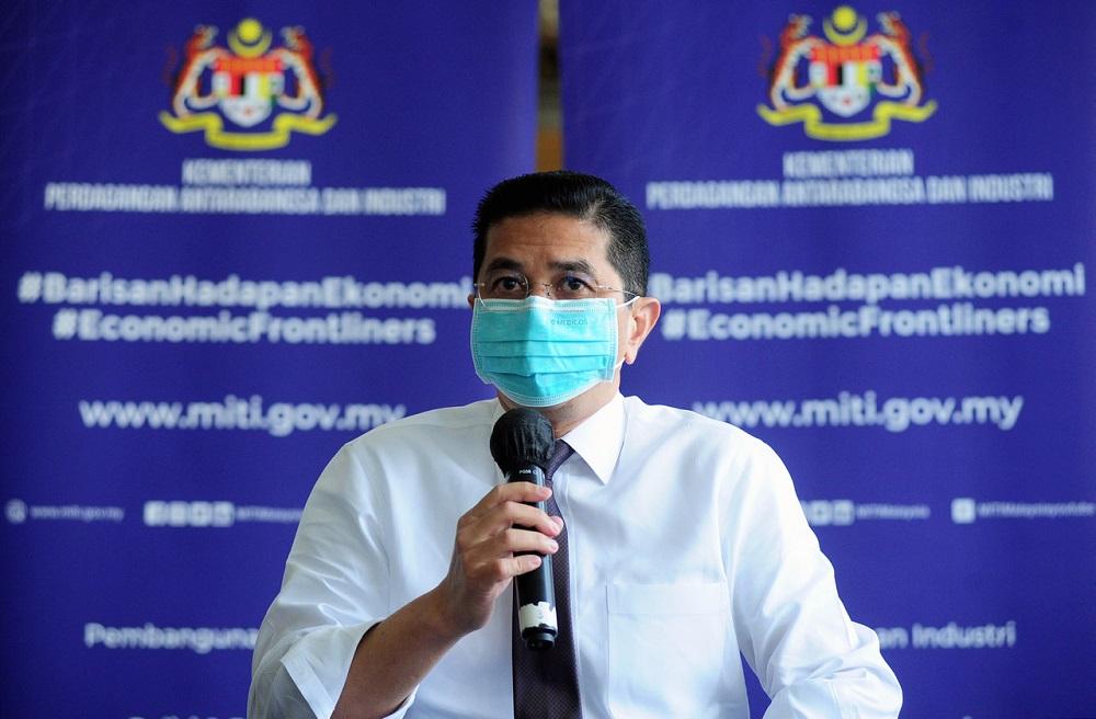 Senior Minister of International Trade and Industry Datuk Seri Mohamed Azmin Ali. — Bernama pic