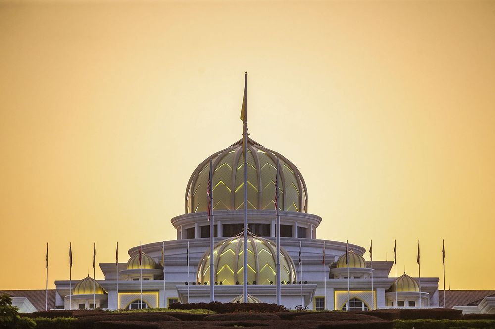 Istana Negara is pictured during the special Conference of Rulers meeting, June 16, 2021. ― Picture by Hari Anggara