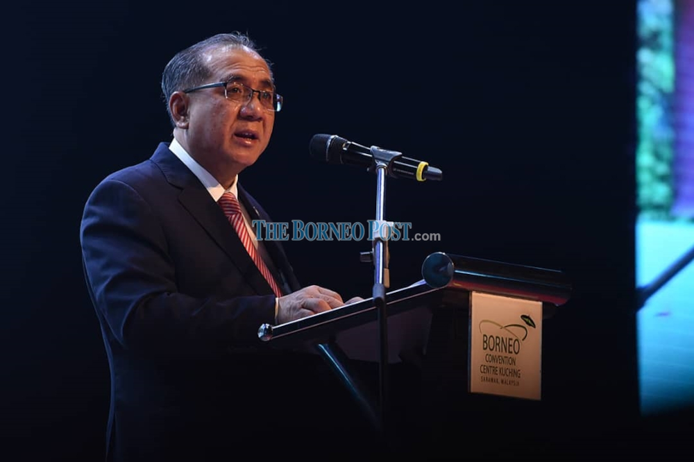 In a press statement today, State Secretary Datuk Amar Jaul Samion clarified that Ahmad Tarmizi's past tenure of service and extension were all based on contract agreement. — Borneo Post Online pic