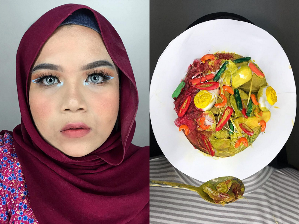 27-year-old Wan Farah Nadia Wan Iskandar finds comfort in her special effect makeups. ― Picture courtesy of Wan Farah Nadia Wan Iskandar