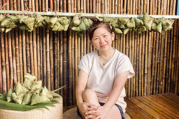 Ming Rice Dumpling is started by Taiping-born Tan Ai Beng, partly to pay homage to her 'Lou Ma Ji' (mother in Cantonese).