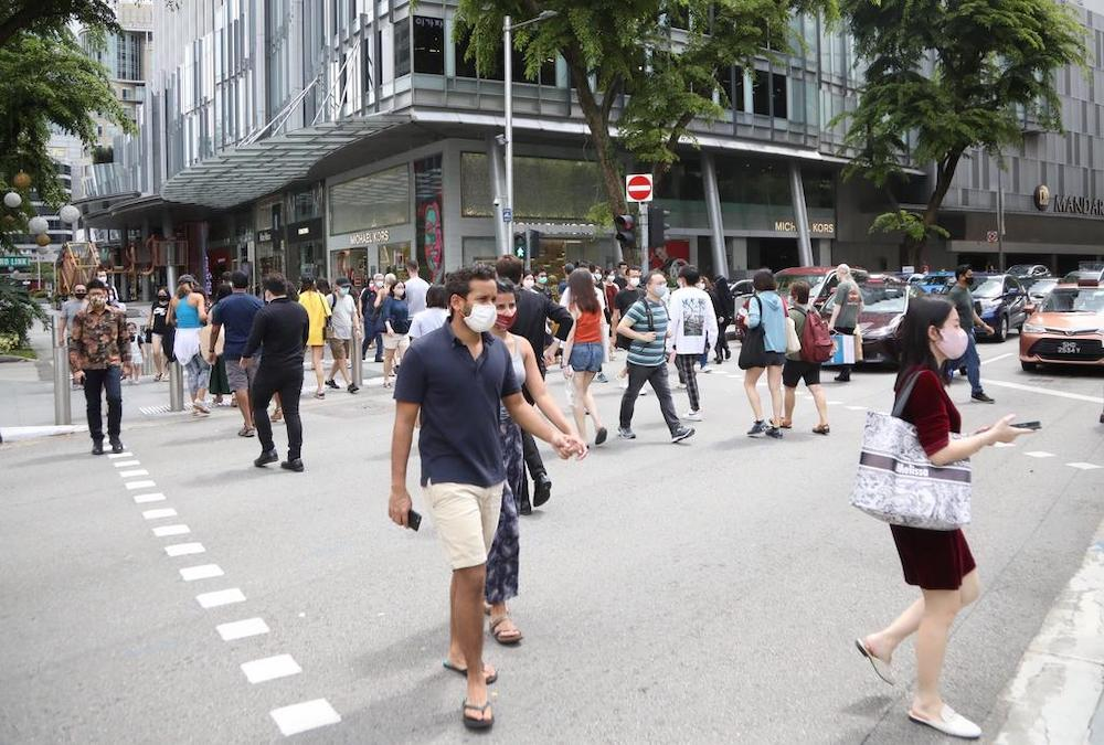 Singapore announced that certain restrictions will be relaxed when it moves back to Phase 3 (Heightened Alert) from June 14, 2021. — TODAY file pic