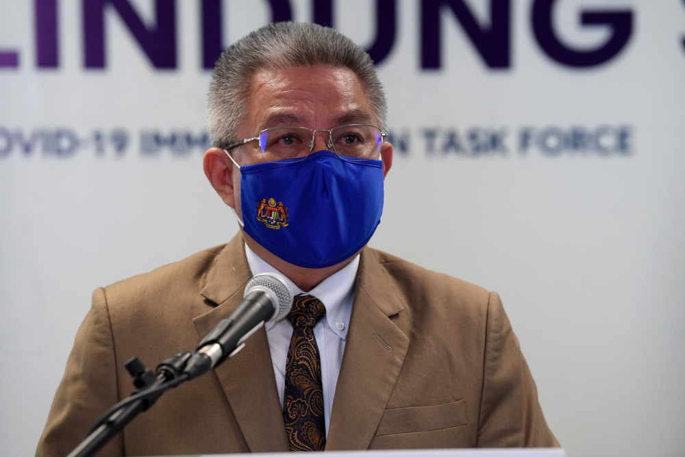 Health Minister Datuk Seri Dr Adham Baba said the number was expected to increase further this month after a total of 22,857 cases were recorded in the two categories as of yesterday. — Bernama pic