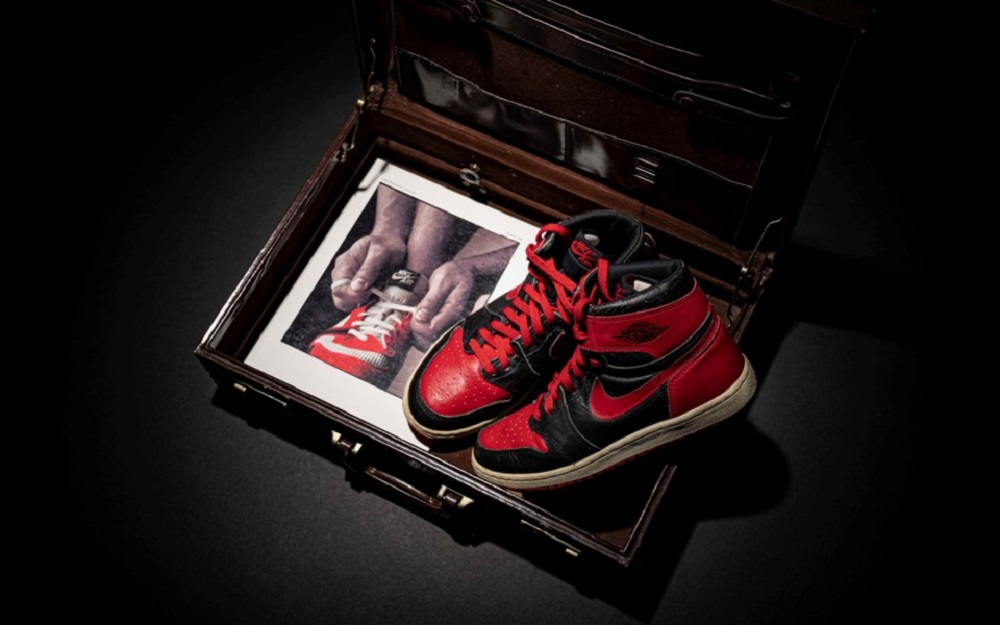 The auction 'Original Air Takes Flight: The Evolution and Influence of Air Jordan Sneakers' will be entirely dedicated to the most coveted sneaker of all time, the Air Jordan. ― Picture courtesy of Christie's