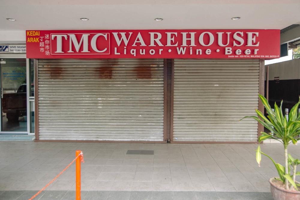 TMC Warehouse in Bangsar in Kuala Lumpur June 4, 2021. — Picture by Firdaus Latif
