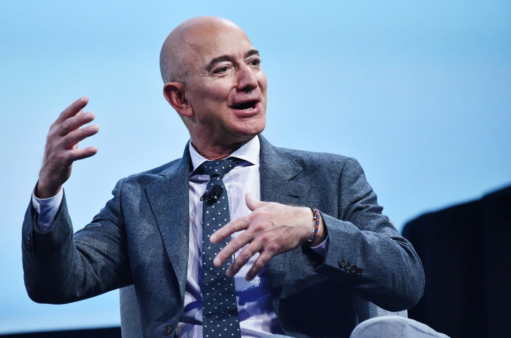 ProPublica revealed that Amazon boss Jeff Bezos, one of the three richest men in the world, paid little or no tax on his total wealth, not just their income. — AFP file pic