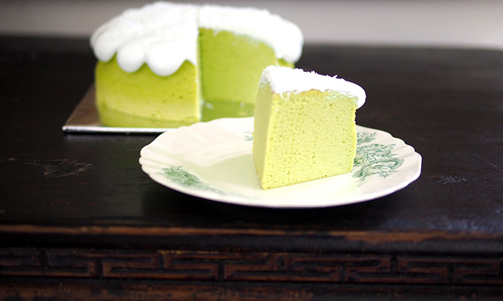 If you are craving for a sweet treat, try this fluffy pandan cloud cake from Nono's Homemade that hits the spot perfectly — Pictures by Lee Khang Yi