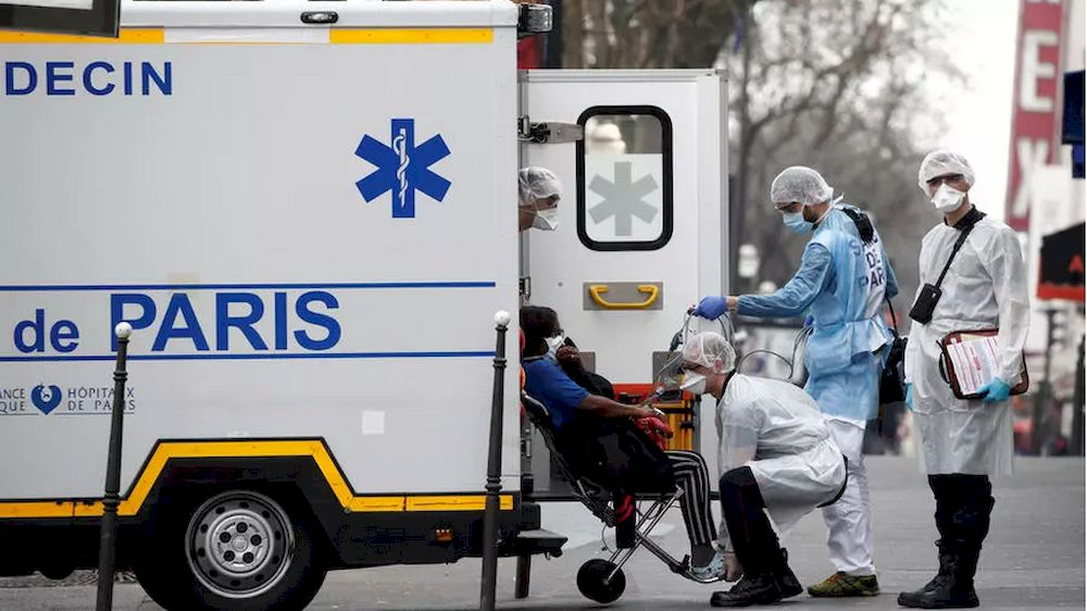 Many people in France found themselves either unable to reach emergency medical, police or fire numbers. — AFP file pic