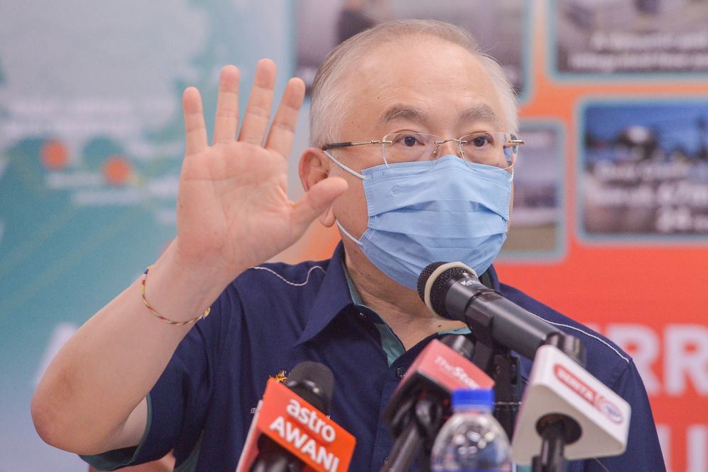 Wee said it was too early to ascertain the actual cause of the DCCU's failure as the investigation might lead to other conclusions. — Picture by Miera Zulyana