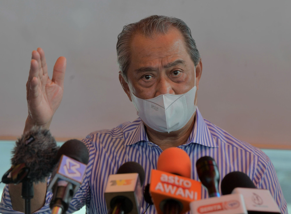 Prime Minister Tan Sri Muhyiddin Yassin said he had also instructed all ministers involved in the National Covid-19 Immunisation Programme to ask the vaccine manufacturers to provide Malaysia with the supplies faster. — Bernama pic
