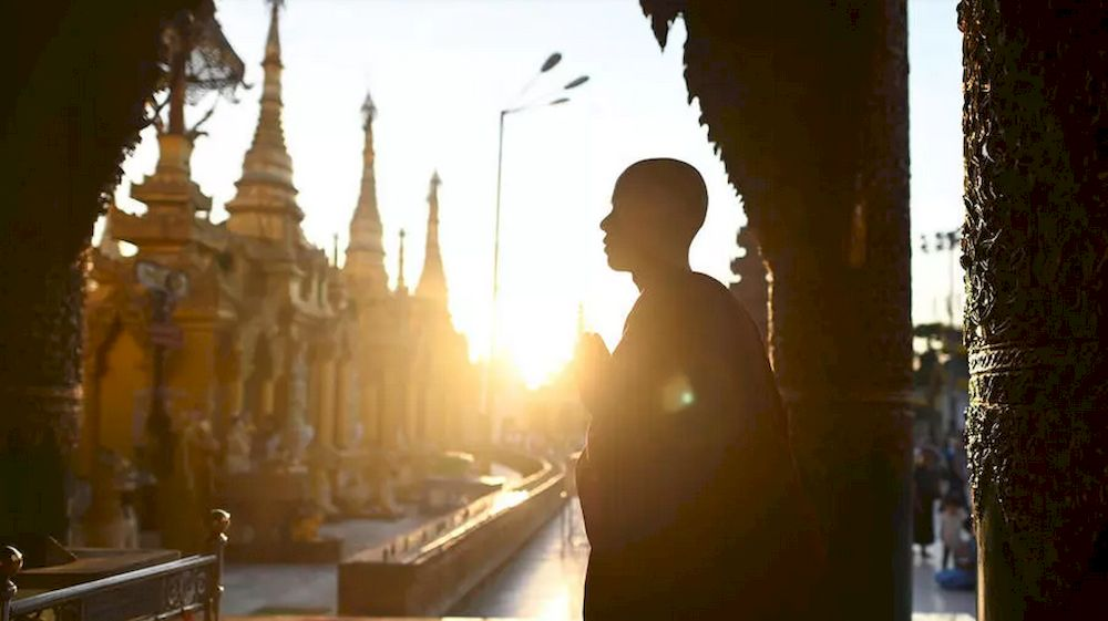 Myanmar's Buddhist monkhood led an earlier struggle against military rule but is split on the coup that ended the country's nascent democracy in February —AFP file pic