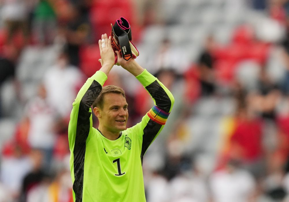 Bayern Munich's new head coach Julian Nagelsmann confirmed that Germany goalkeeper Manuel Neuer, who at 35 is a year older, will be his captain having done an 'outstanding' job since Philipp Lahm retired as Bayern skipper in 2017. — Reuters pic