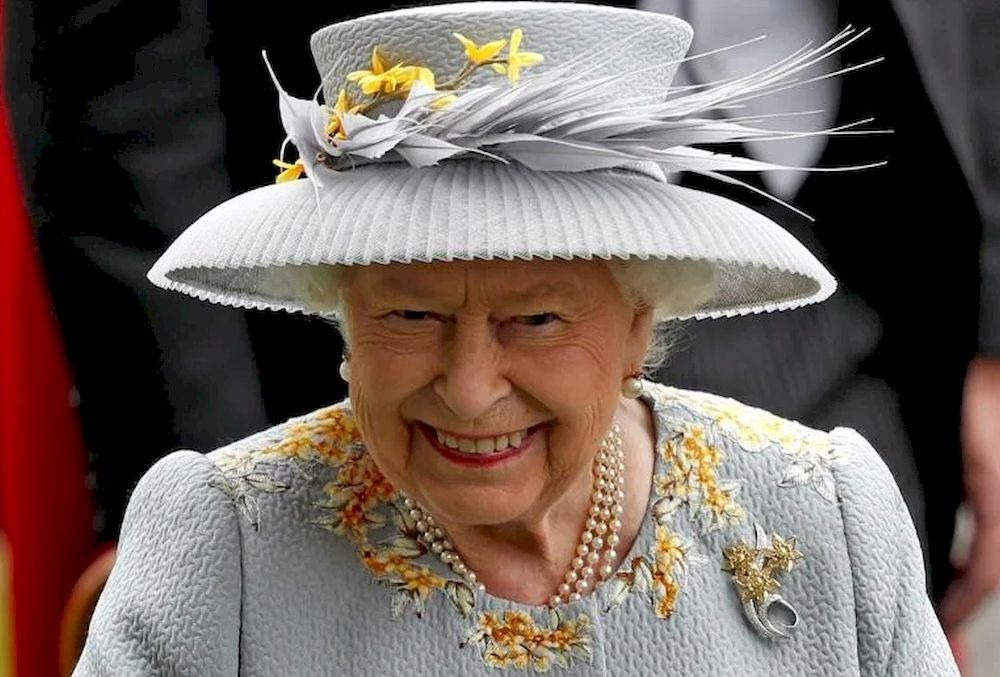 The queen has become the latest victim of what the Daily Telegraph called 'cancel culture'. — AFP pic