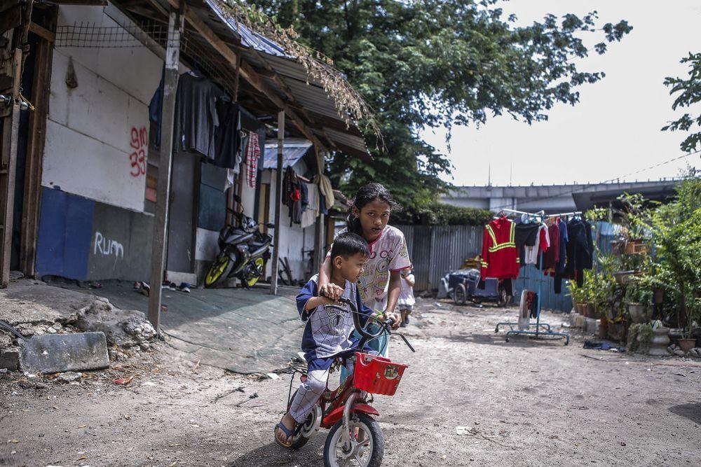 General view of a Rohingya settlement in Bandar Baru Sentul, Kuala Lumpur June 13, 2021. — Picture Hari Anggara