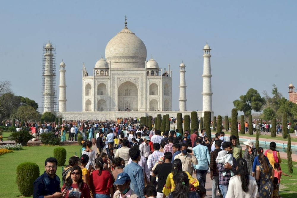 India's top tourist attraction the Taj Mahal will reopen on June 16, 2021. — AFP file pic