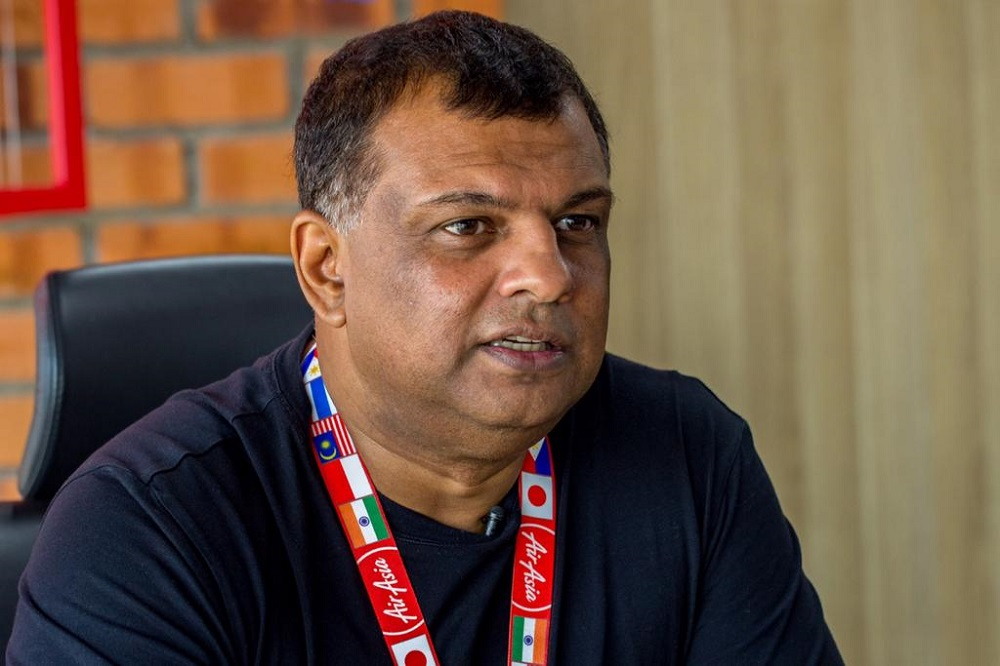 Group chief executive officer Tan Sri Tony Fernandes said the transaction was a much-welcomed boost to the group's overall fundraising strategy, alluding to the group's plans to raise up to RM2.5 billion through a combination of borrowing and equity raising. — Picture courtesy of AirAsia