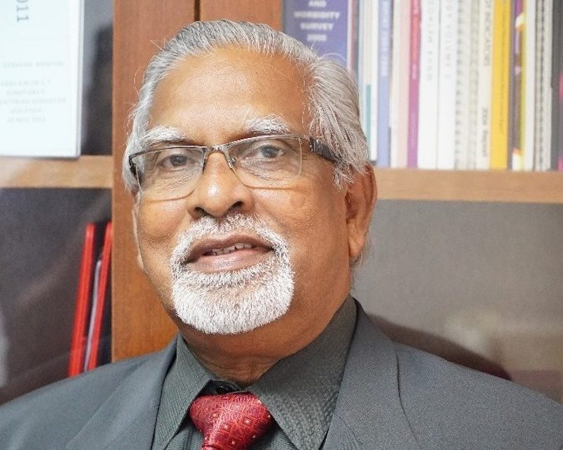 MMA president Professor Datuk Dr Subramaniam Muniandy. — Borneo Post pic