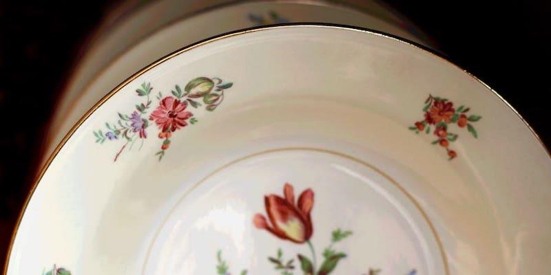 Grandma's china has never been so coveted. — JannHuizenga / Getty Images via ETX Studio