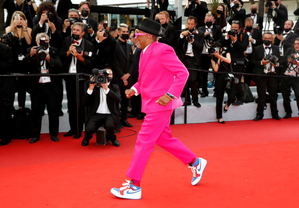 Spike Lee at the Festival de Cannes opening ceremony
