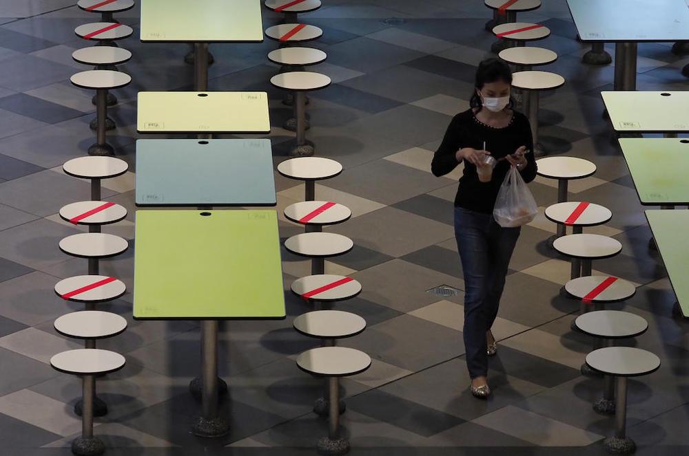 新加坡将重新禁止堂食,餐饮场所只允许提供打包和外卖服务。-TODAY-