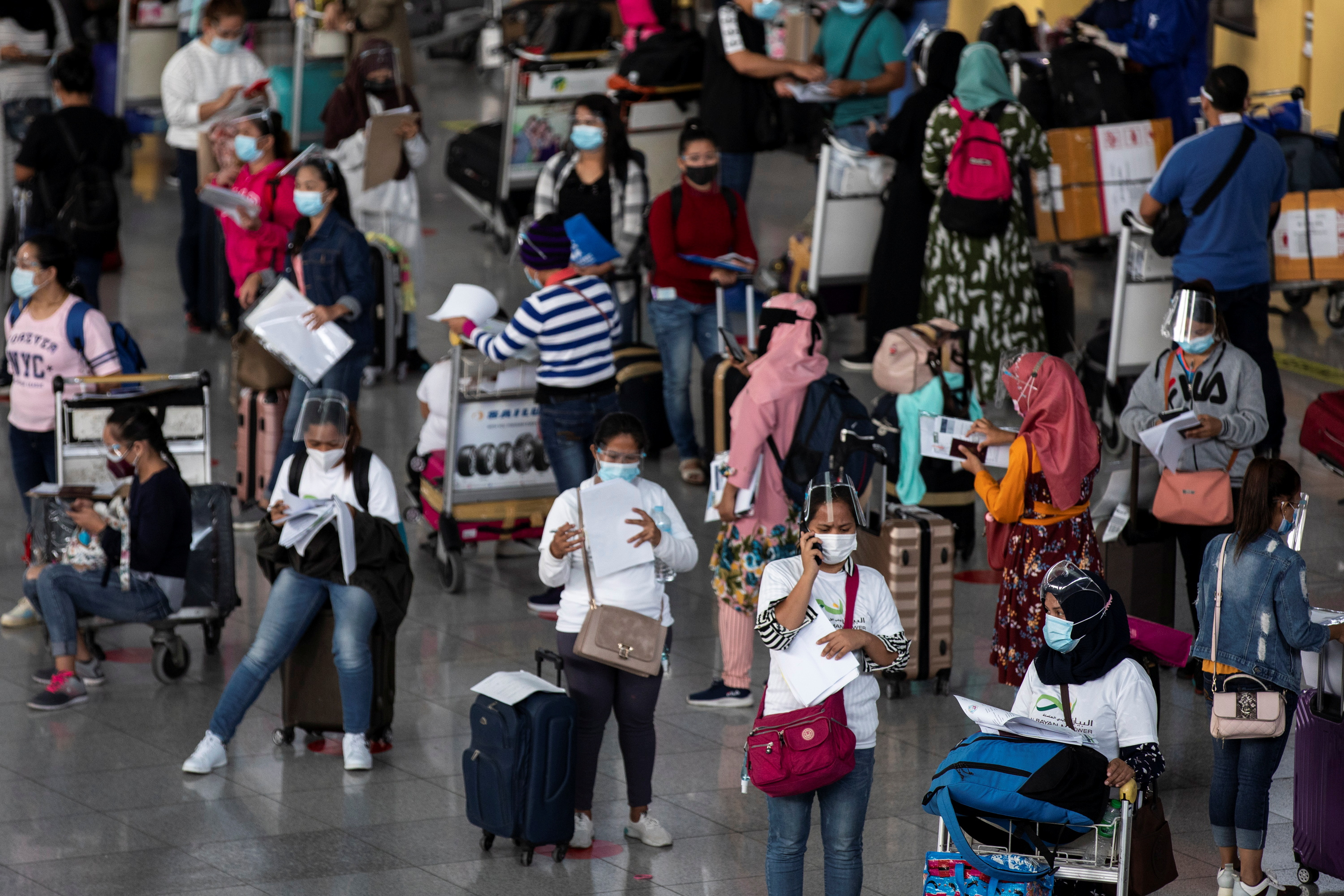 The Philippines has extended the travel ban for all inbound travellers from India and nine other countries from August 1 to 15. — Reuters pic