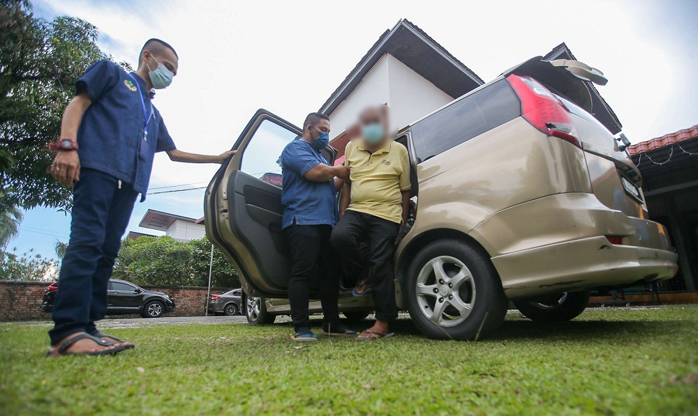 .At the moment, residents of Fitrah Nursing Care depend on this MPV for their transport.