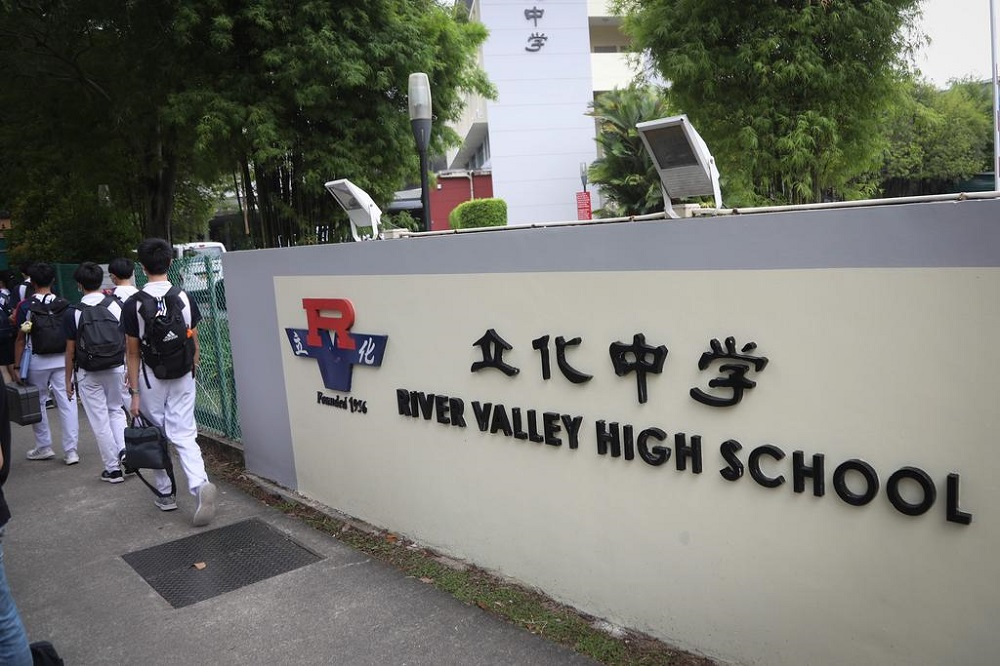 Students leave River Valley High School in the late afternoon on July 19, 2021. — TODAY pic