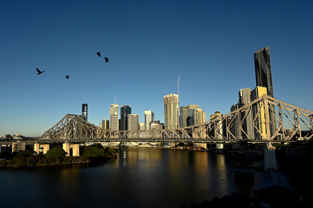 A view of the city skyline of Brisbane, Australia, July 4, 2021. Picture taken July 4, 2021. — Reuters pic