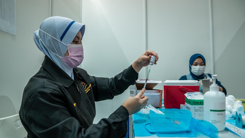 截至周一(7月5日)全国共接种31万3761剂疫苗。-图摘自Soya Cincau-