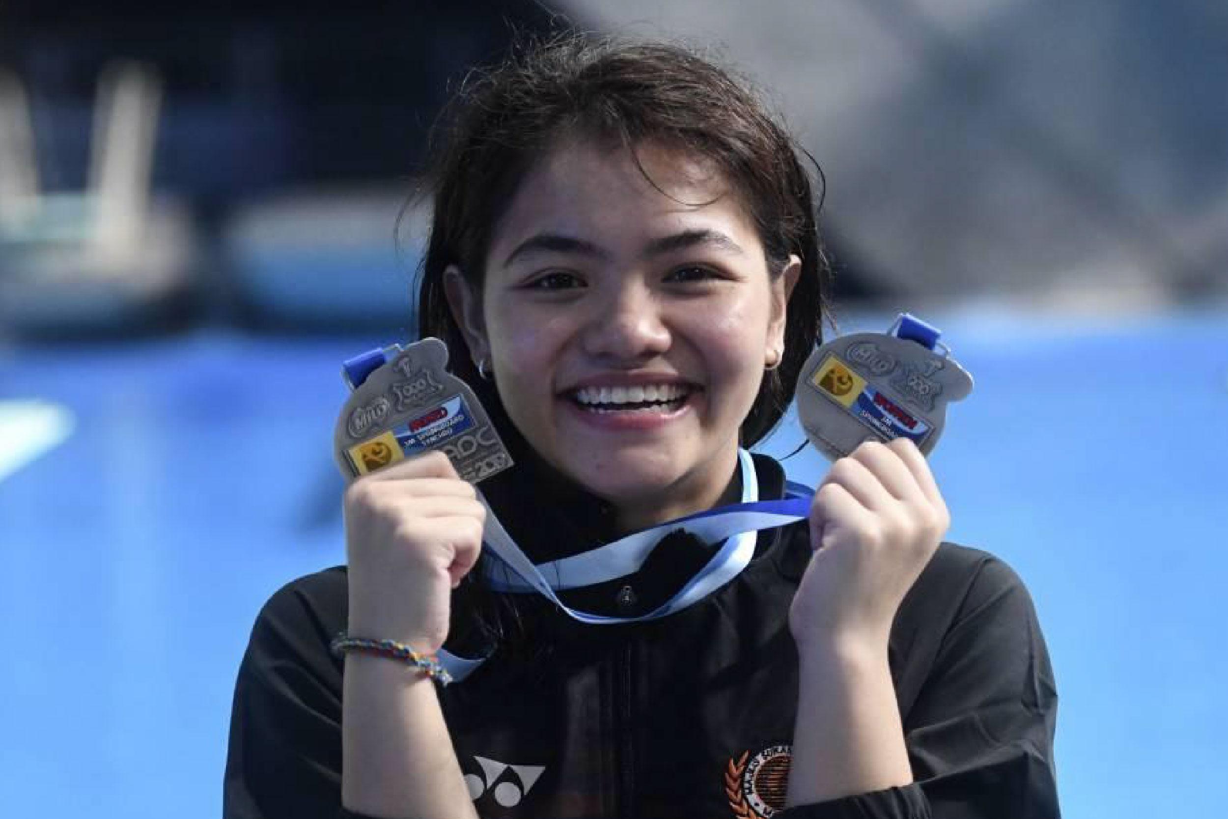 年仅22岁的诺达比塔希望能在东京赢得她的首枚奥运奖牌。-马新社-