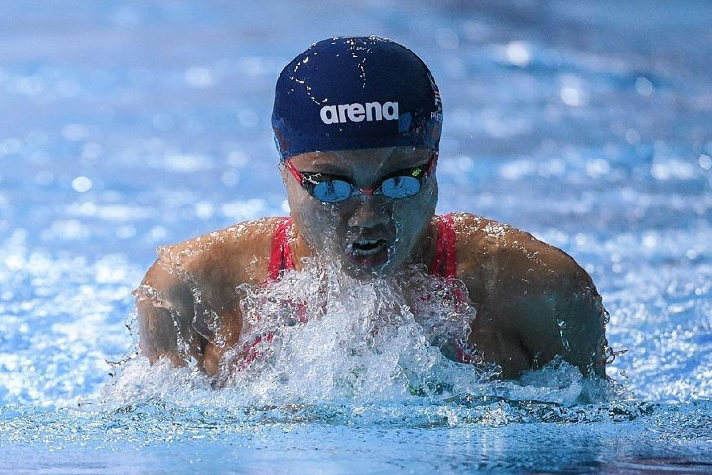 """大马""""蛙后""""彭靖恩昨天在女子200米蛙泳预赛中,在同组8人中垫底,无缘晋级16强,结束她在东奥的征途。-马新社-"""
