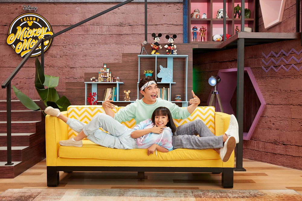 The two new Mousekeeters ; four-time KL International Wushu Gold Medallist, Eric Lau Lofstedt and 14-year-old Melynna Rose. ― Picture courtesy of Disney+Hotstar