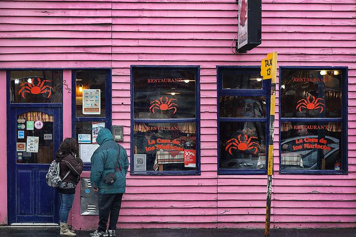 Crab-focused restaurants offer empanadas with crab meat filling.