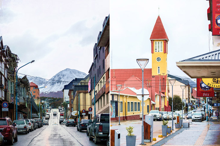 The quiet seaside town of Ushuaia, where restaurants offer the freshest catch of the day.