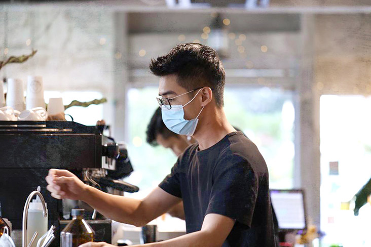 Ground owner Derry Teh wants to share his love of good coffee and delicious pastries with his customers.