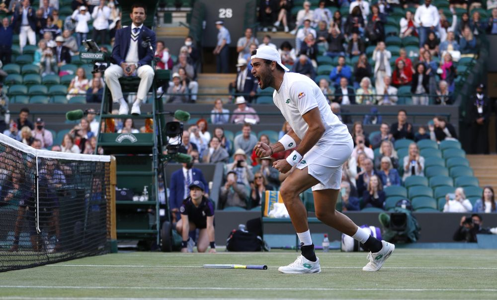 Berrettini stays on course to emulate Becker as he reaches Wimbledon semi-finals | Sports ...