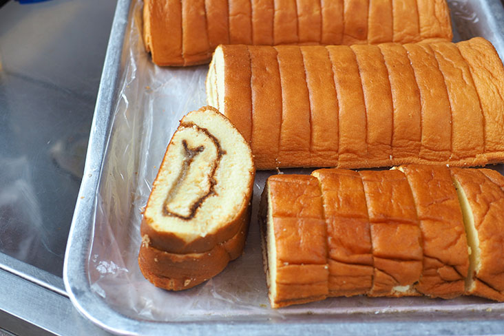 Madam Wong sells fluffy 'kaya' rolls that are not overly sweet