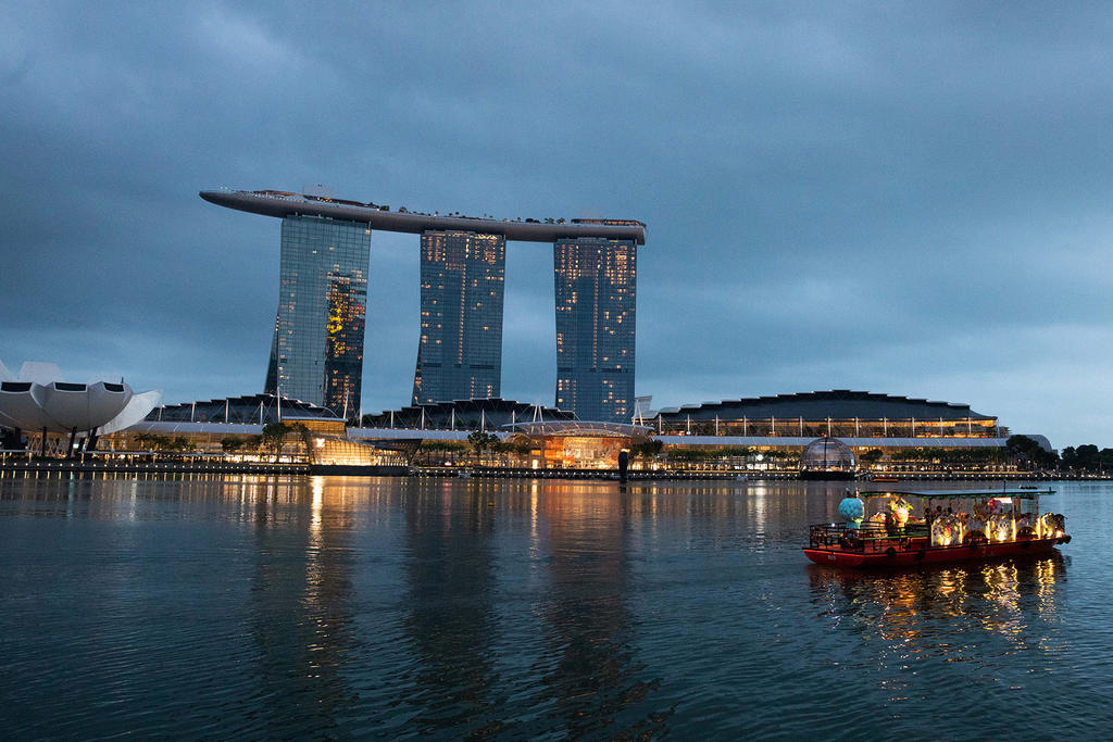 The Ministry of Health have found 11 cases of coronavirus infection linked to a new cluster at the casino in Marina Bay Sands integrated resort (pictured). ― TODAY pic